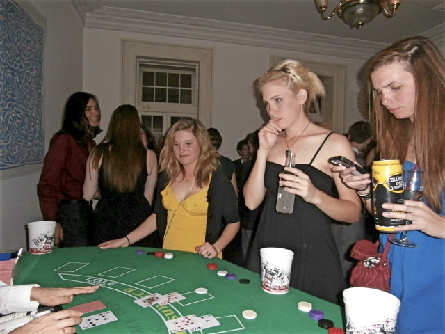 casino theme party ideas